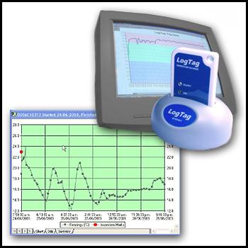 DryPak Industries - Data Logger Temperature Recorders (Multi Use)